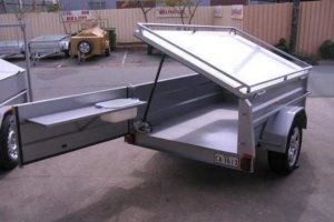 7 x 4 Trailer Lockable