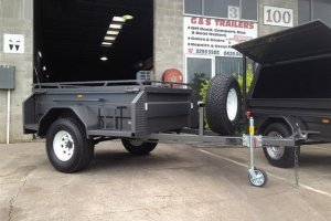 7 x 4 Off Road Trailer